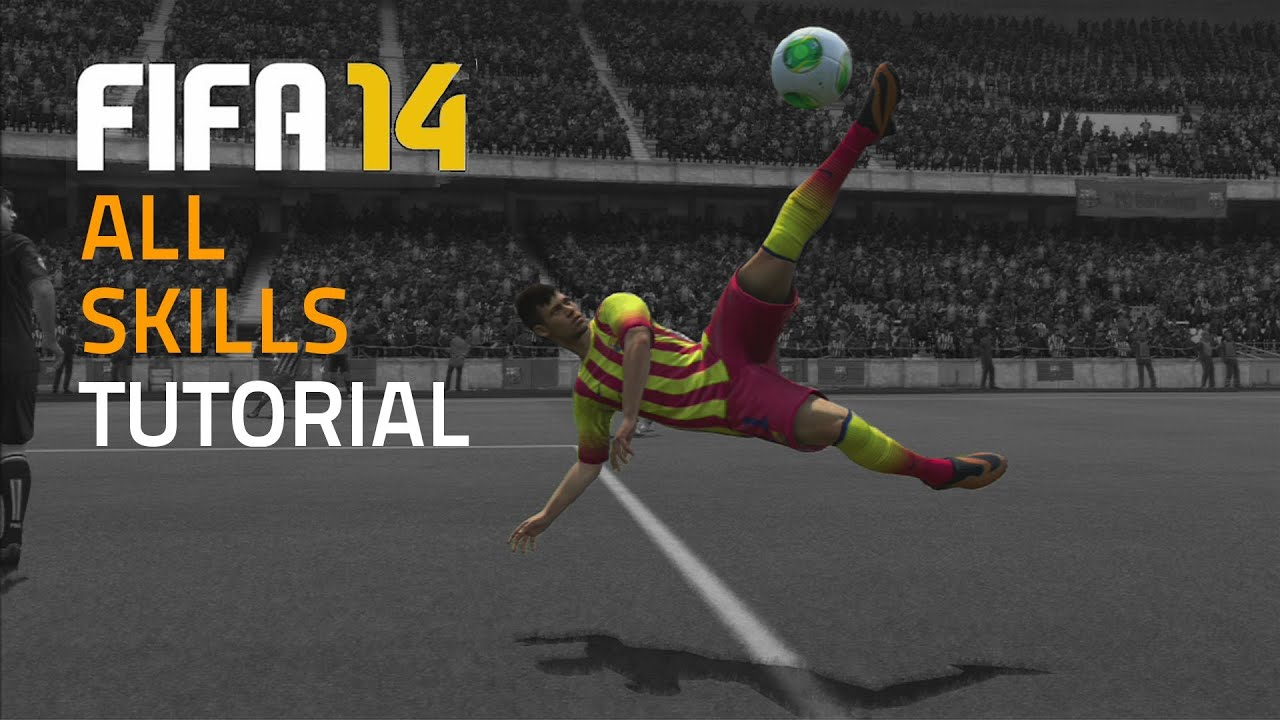 Fifa 14 all skills tutorial hd youtube voltagebd Image collections