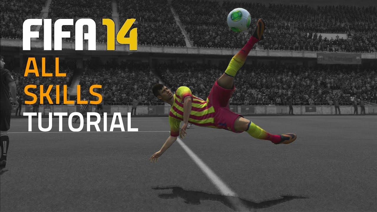 Fifa 14 all skills tutorial hd youtube voltagebd Images