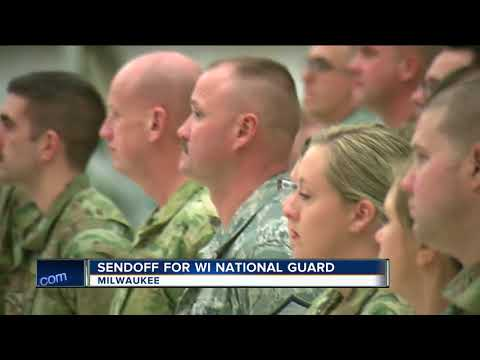 Sendoff For WI National Guard