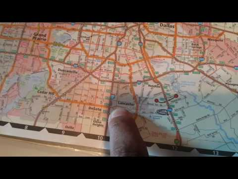 HOW TO READ A TRUCK ROAD ATLAS - TRUCK MAP - YouTube