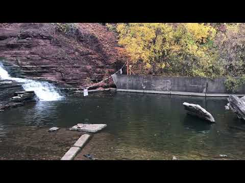 Oak Orchard River Salmon Fishing (in The Hole!) October 29, 2020