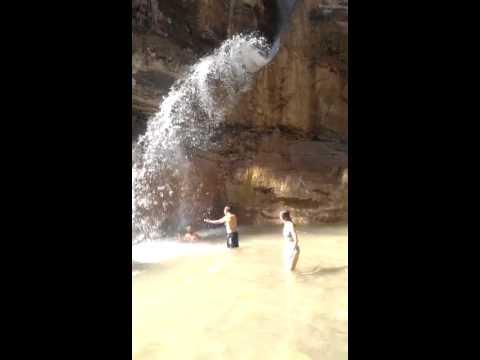 greek island remote waterfall evia
