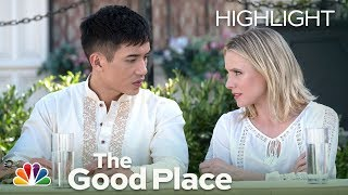 The Good Place - Michael Roasts Eleanor and Gang (Episode Highlight)