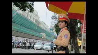 Phim | NỮ CẢNH SÁT GIAO THÔNG HÀ NỘI DUC HOA | NU CANH SAT GIAO THONG HA NOI DUC HOA