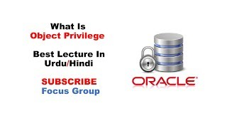 What are Object Privileges | Oracle Database | Lecture in Urdu/Hindi