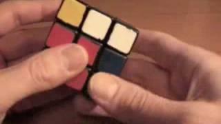 Как собрать Кубик Рубика. Часть 1/2. Первые два слоя.