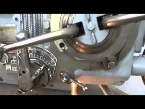 "Carlton 1AA 3' x 9"" Column Radial Arm Drill Press"