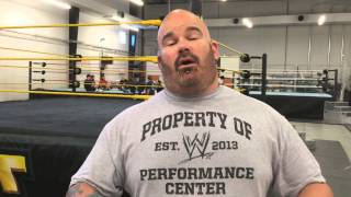Jason Albert talks about the WWE Performance Center - Video Blog: Aug. 7, 2014