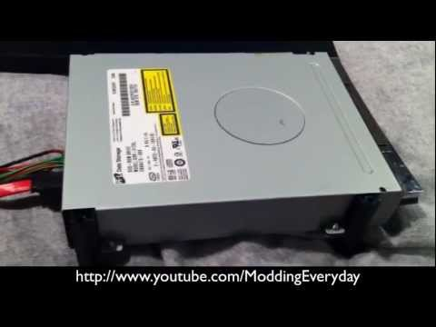 How To Flash Any (Phat) Hitachi Xbox 360 DVD Drive With LT+ 2.0