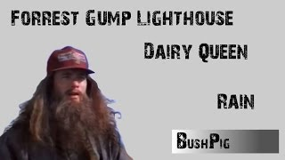 Rain, Forrest Gump Lighthouse, Dairy Queen