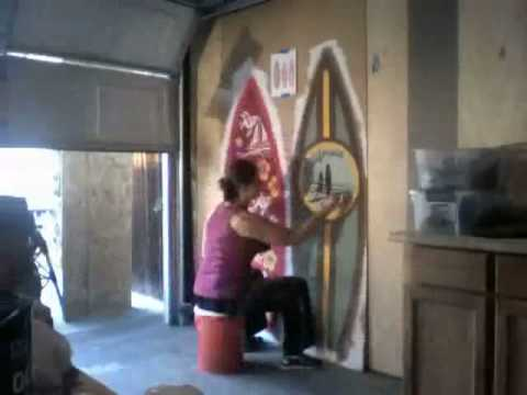 Attirant Zachu0027s Surf Themed Room   YouTube