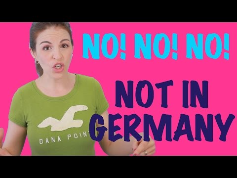 7 Things You DON'T DO IN GERMANY
