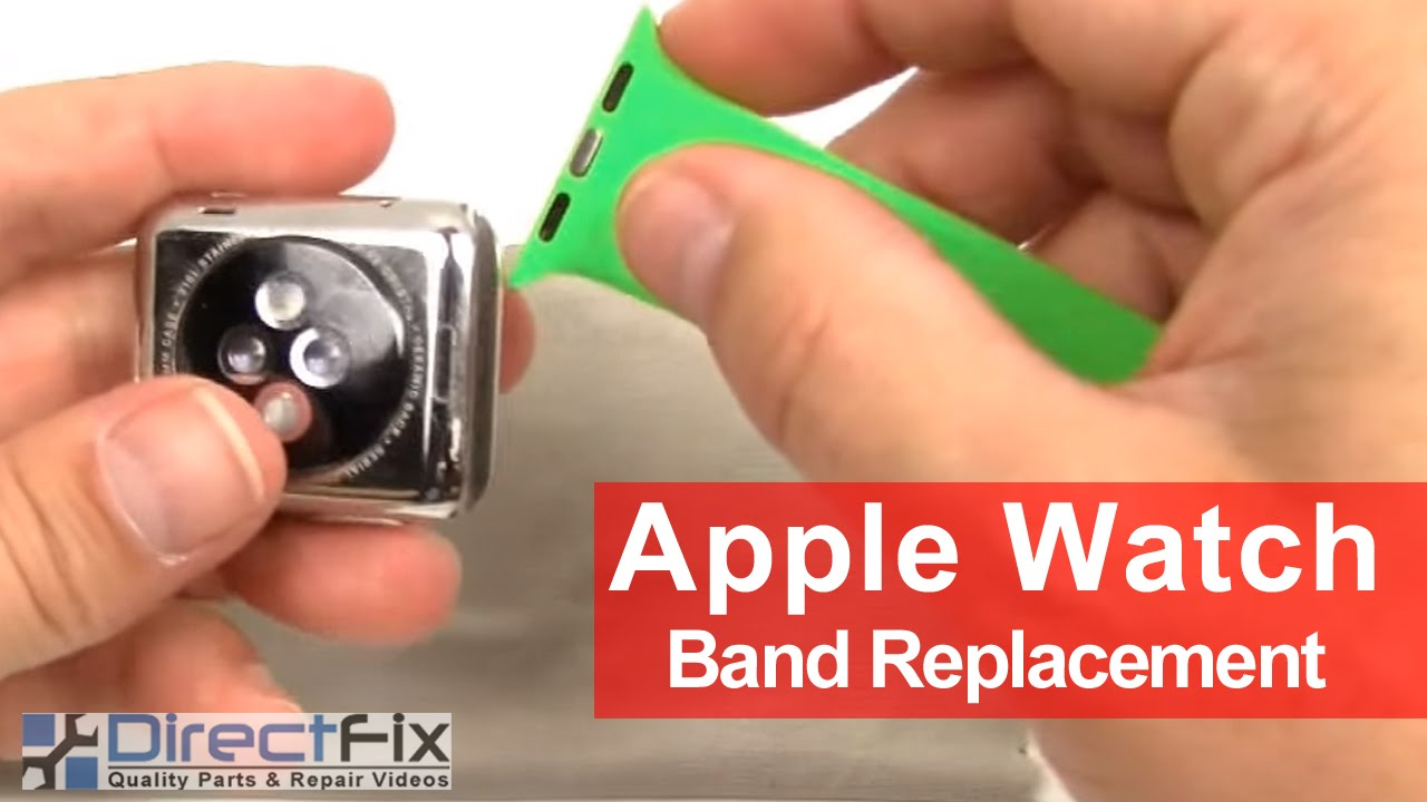 How To Apple Watch Band Replacement Instructions In 1 Minute Youtube
