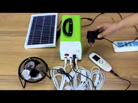 The Smallest DC Solar Home System GNL 6-4.5Q/ Great Nice PV Limited / gnice.cn