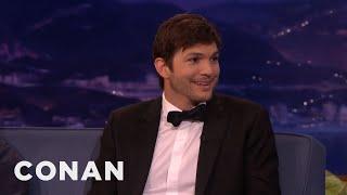 Gambar cover Ashton Kutcher's Huge Prosthetic Penis  - CONAN on TBS