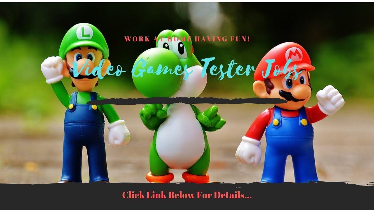 Video Game Tester Jobs Texas