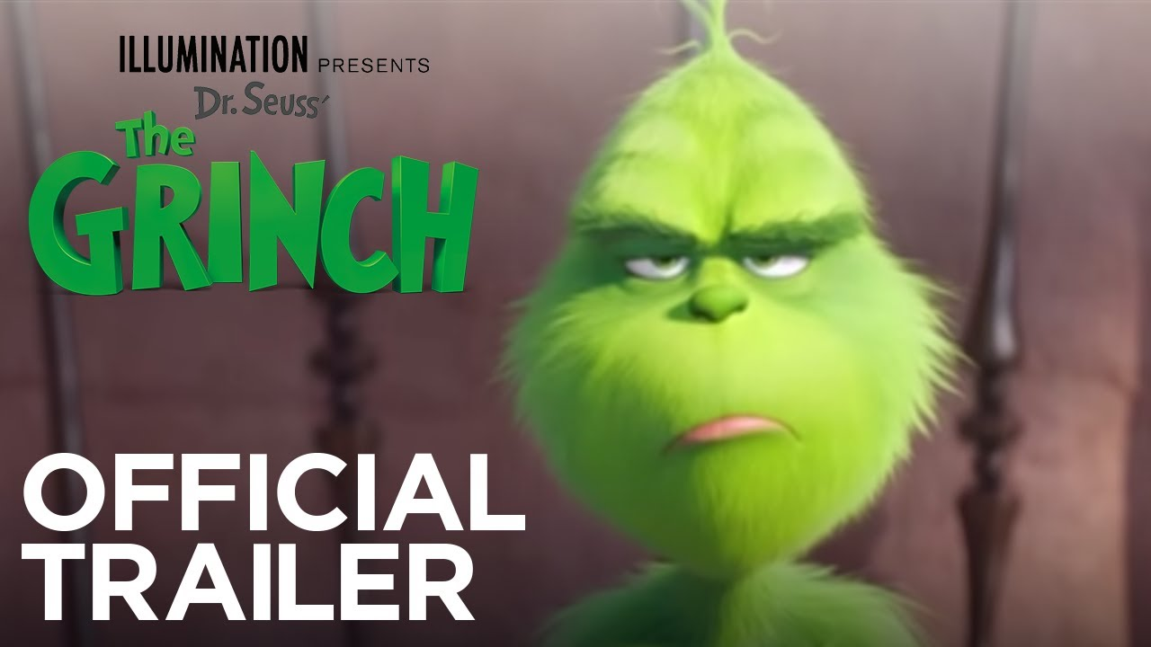 The Grinch - Official Trailer [HD] image