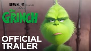 the grinch official trailer hd