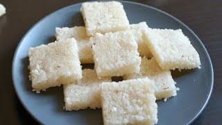 Coconut Barfi Without Milk powder & Mawa Very Easy & Tasty
