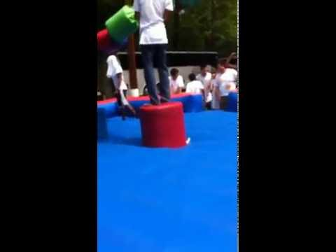 John Pershing bouncy house fight