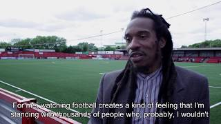 Stadium - Benjamin Zephaniah on football and theatre