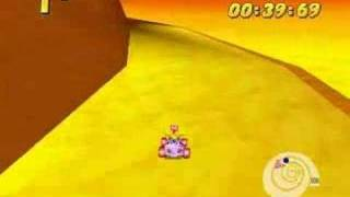 Didddy Kong Racing: Walkthrough (Triceratops Race)