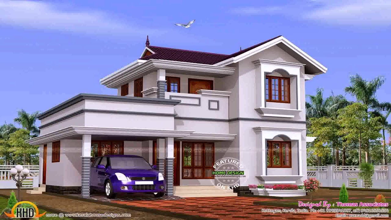 dream home plans in kerala with estimate prices youtube