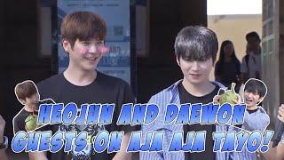 K-POP Idols Daewon And Heojun Guest On Aja Aja Tayo [Aja Aja Tayo S2] [EP-5]