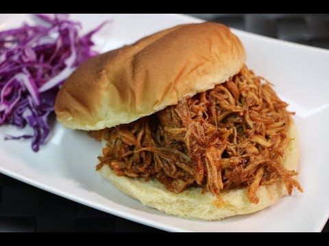 Pulled Chicken Recipe - How To Make Slow Cooker Pulled Chicken