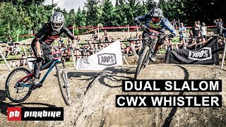 This year's 100% dual slalom course at crankworx whistler provided a challenge for lot of racers with some the top contenders crashing out early. howeve...