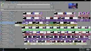 Multi Cam Event Editing in Sony Vegas Part 1.