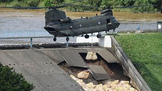 Whaley Bridge: RAF called in to help efforts to stop dam bursting