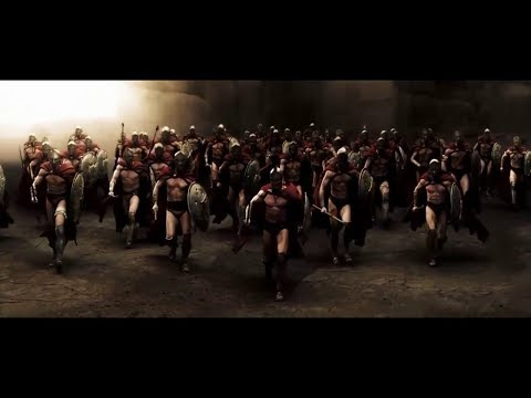 300 Escena Batalla Narrada en Español Latino HQ