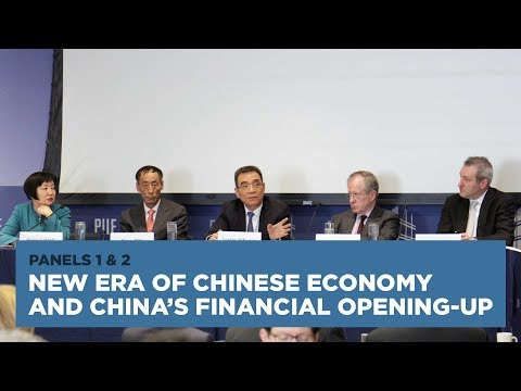 New Era of Chinese Economy and China's Financial Opening-up: Panels 1 and 2