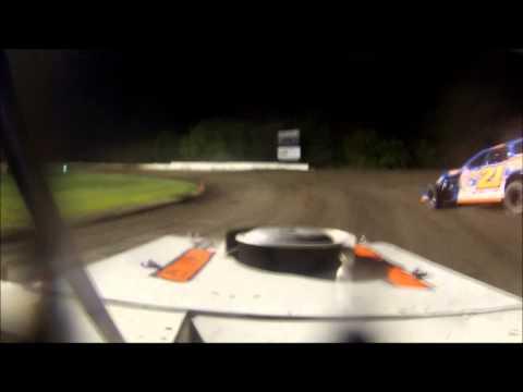 Chateau Raceway 6 27 14 MWMod Feature In Car Jesse Hernandez