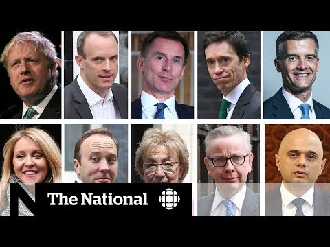 The U.K. MP's Competing For Britain's Top Job