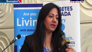 Step Challenge by Canadian Member Parliament Sonia Sidhu on World Diabetes Day