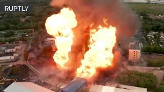 МЧС объявило о ликвидации пожара на ТЭЦ в подмосковных Мытищах. Погибло 1, получили ожоги 13 человек