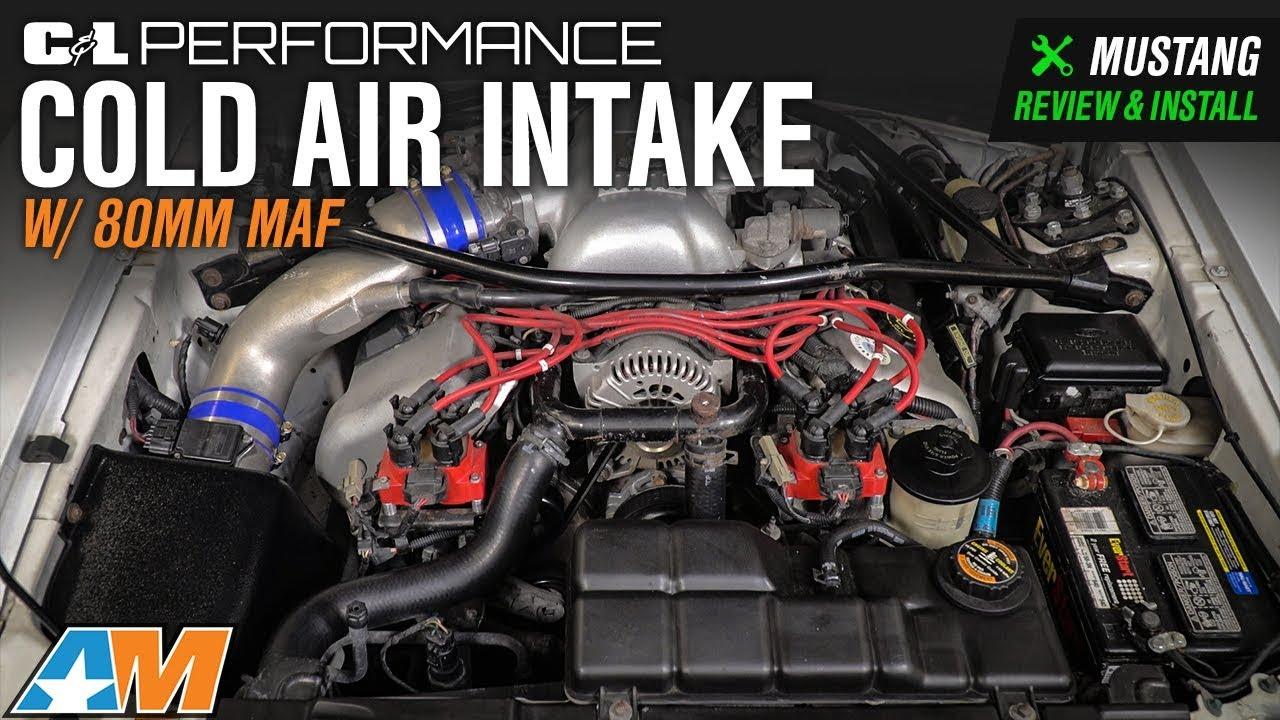 JLT Cold Air Intake Kit 1996-1998 Ford Cobra