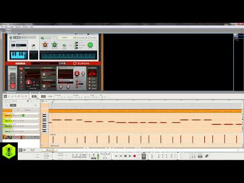 REASON 10 New Synth Europa | Pop Music Production Tutorial