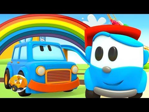 Videos para niños - Colores con Leo el Camión y Coches Inteligentes