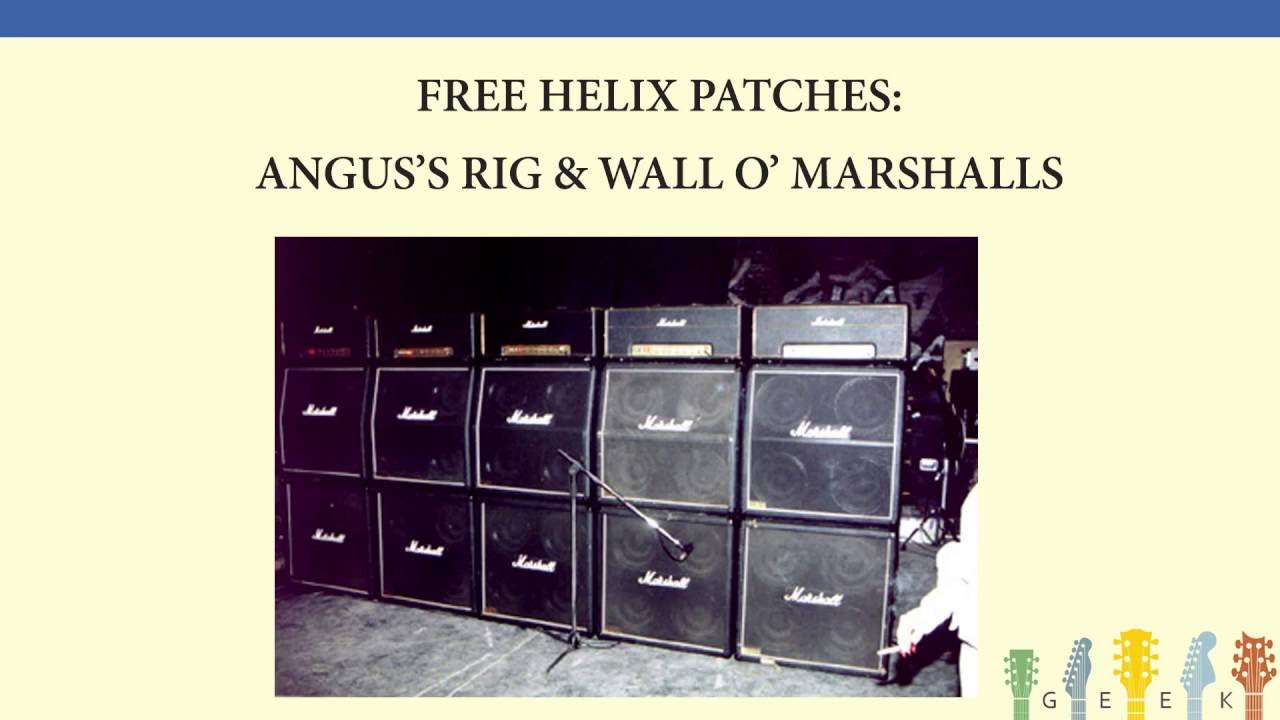 Free HELIX Patches: Walls of Marshalls