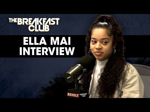 Ella Mai On Being Dised  DJ Mustard, Following The Success Of Bood Up + More