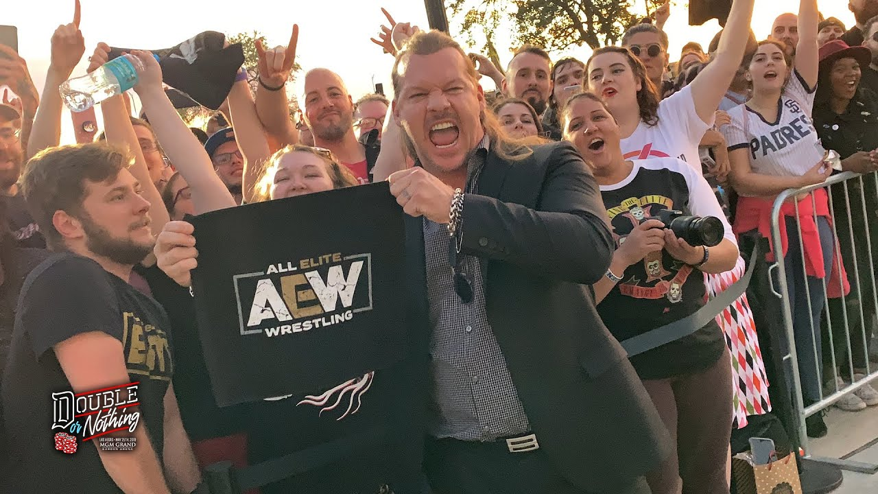 CHRIS JERICHO DEBUTS - AEW'S HISTORY MAKING DOUBLE OR NOTHING RALLY