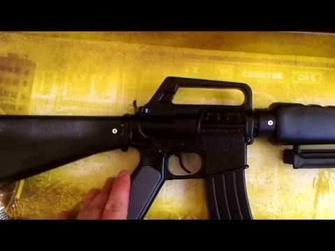 Штурмовая детская винтовка (8 пистонов) Gonher 118/6