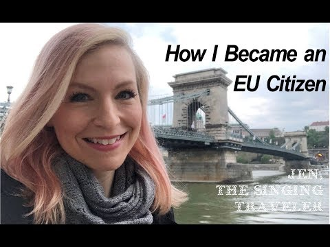 How I Became an EU Citizen!