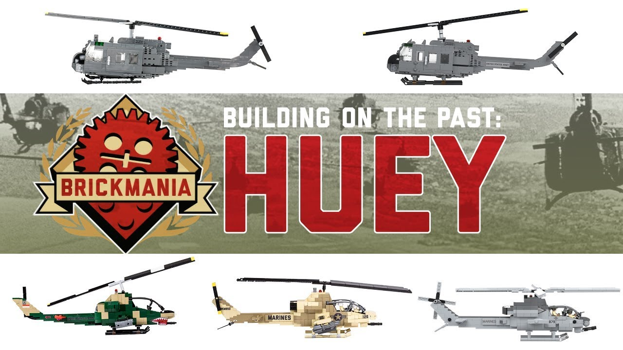 Building On the Past: Huey - Brickmania TV - hmong video