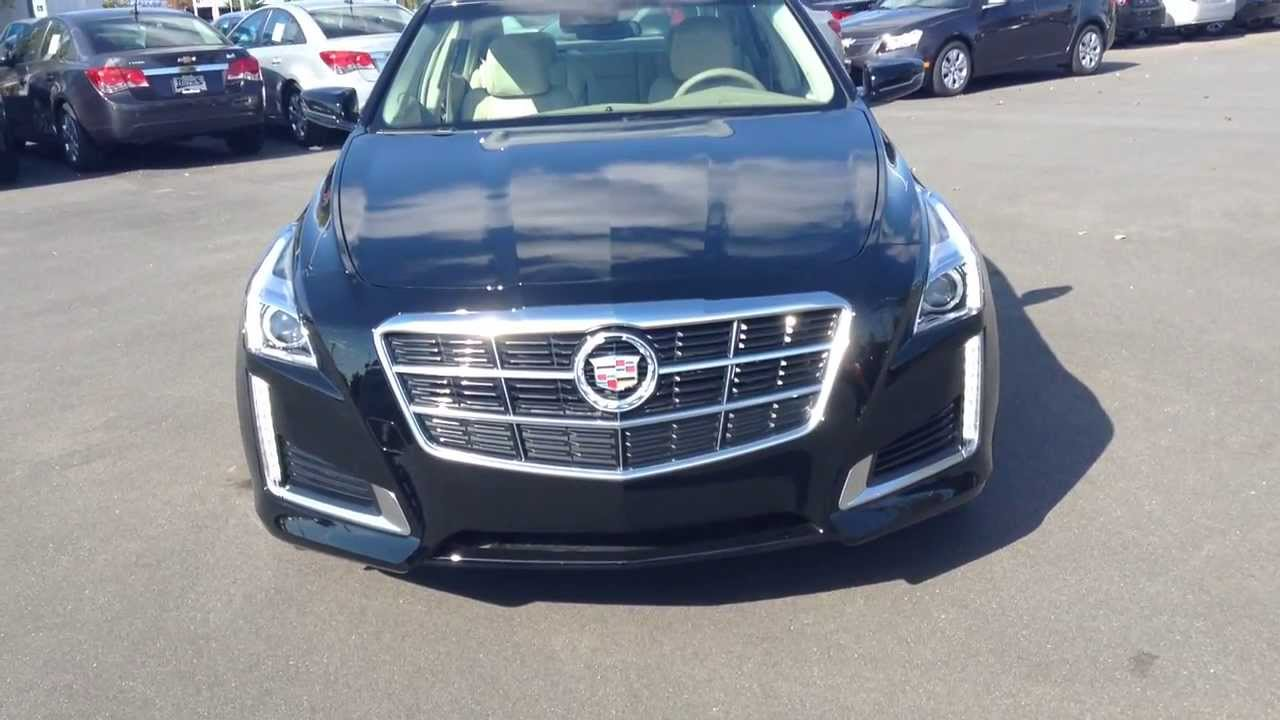 2014 Cadillac CTS Luxury Collection Black Raven Burns Cadillac
