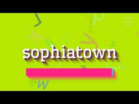 "How to say ""sophiatown""! (High Quality Voices)"