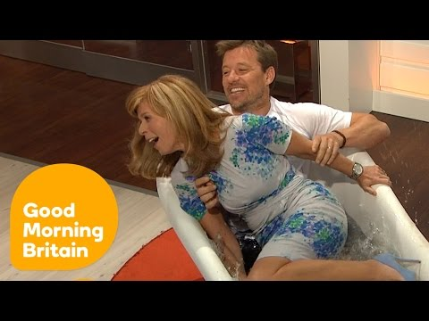 Ben Shephard DRAGS Kate Garraway Into an ICE BATH! | Good Morning Britain